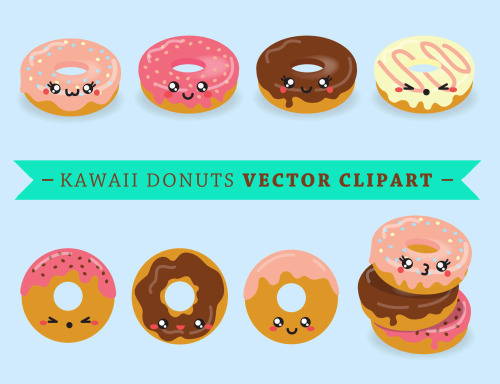 Donut clipart 2