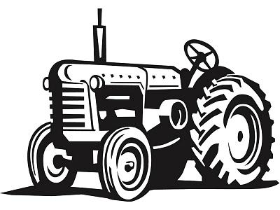 Free tractor clip art