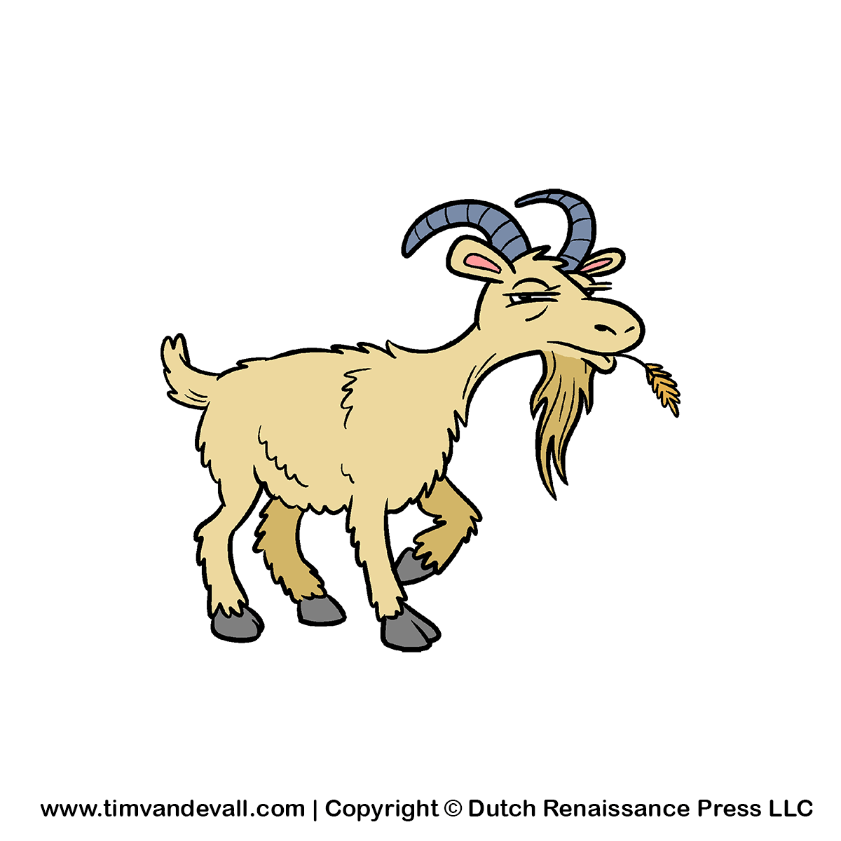 Goat black and white panda free images clipart free clip art images