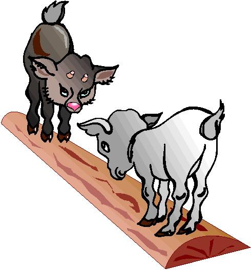 Goats clip art 4