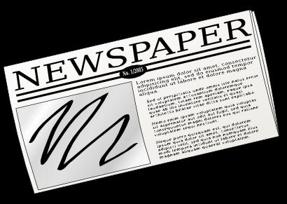 Newspaper clip art  2