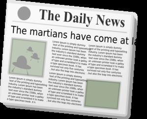 Newspaper clip art at vector clip art 2