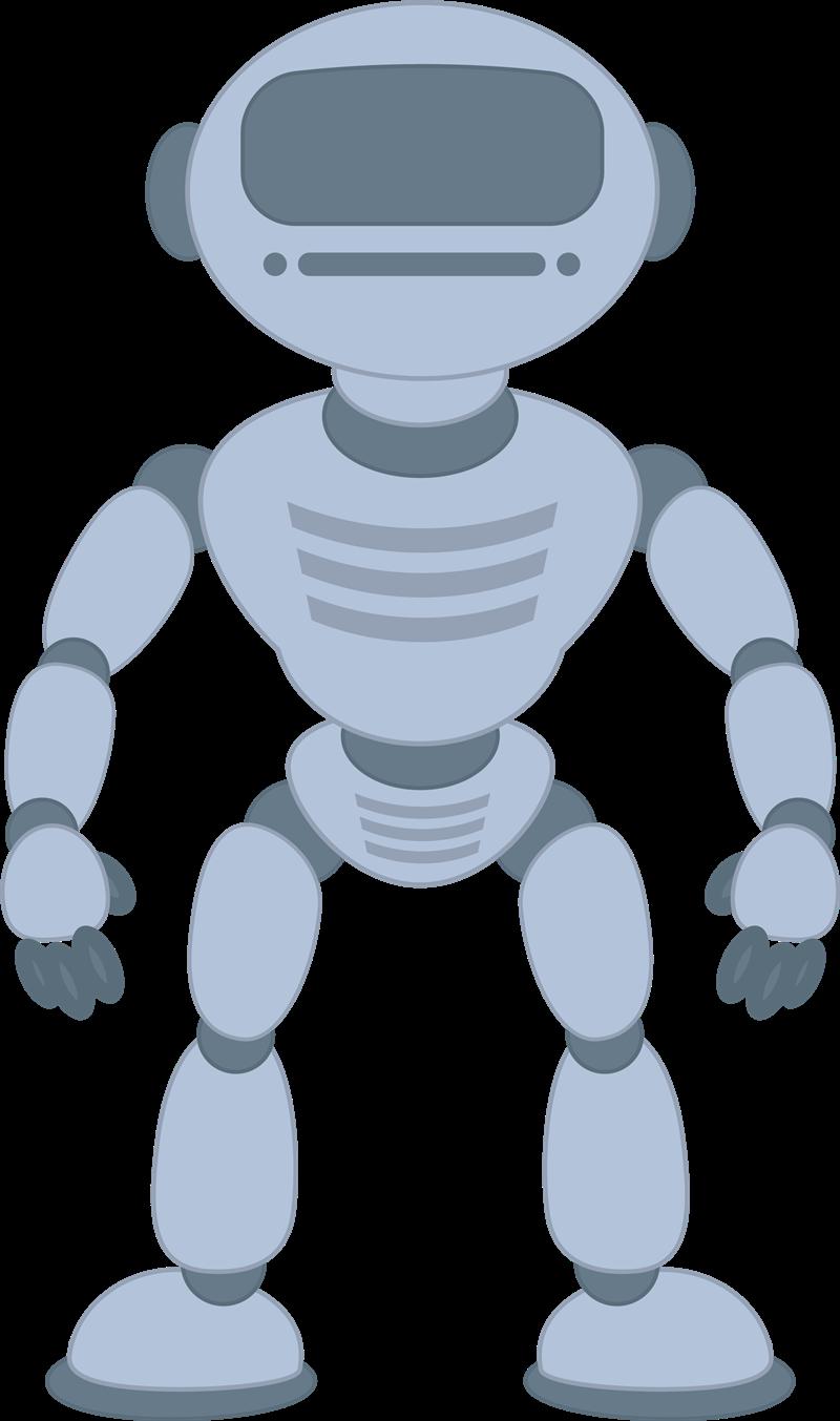 Robot clip art  11