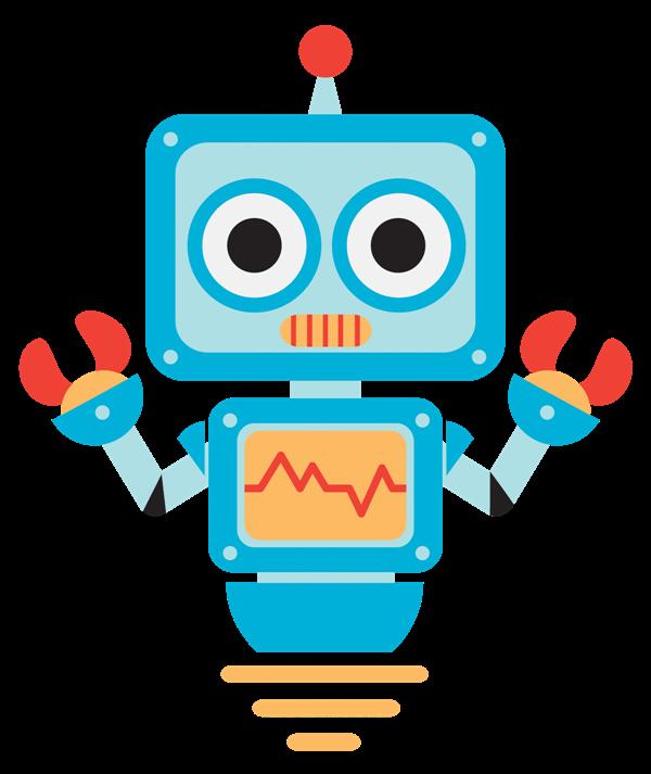 Robot clip art  2