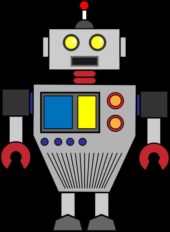 Robot clip art  3