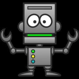 Robot clip art  4