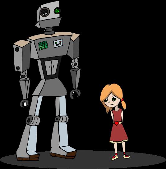 Robot clip art  7