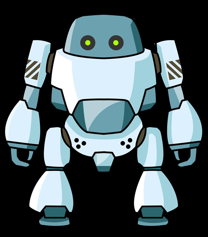 Robot clip art  8