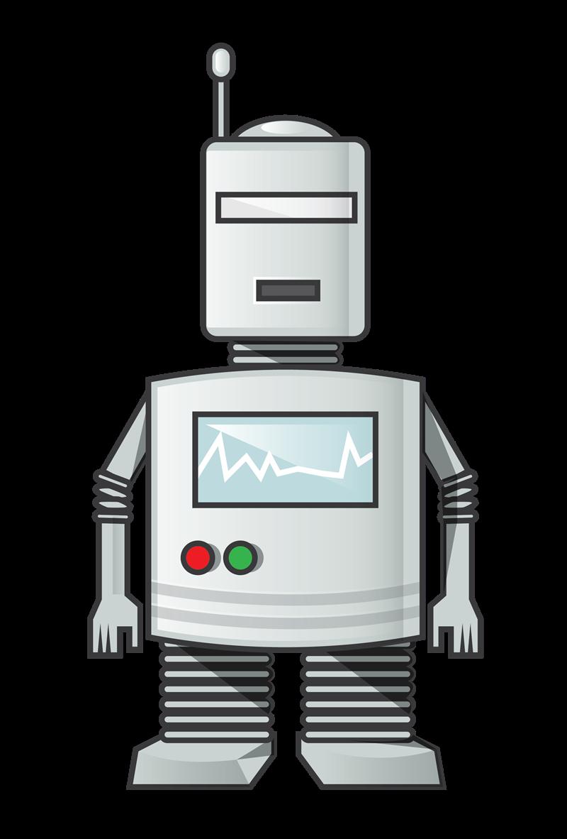 Robot clip art  9