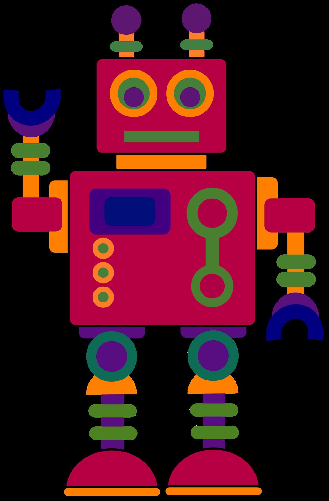 Robot clip art clipart