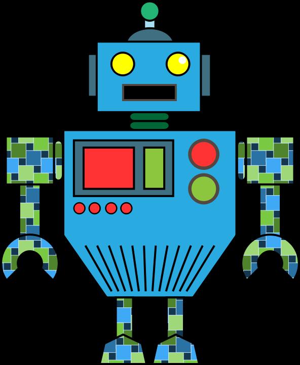 Robot fantasy clip art