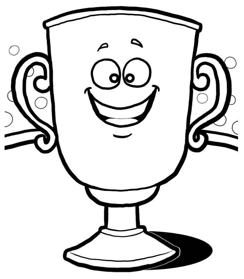 Trophy clip art free large images