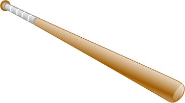 Baseball bat baseball rat clipart cliparthut free clipart