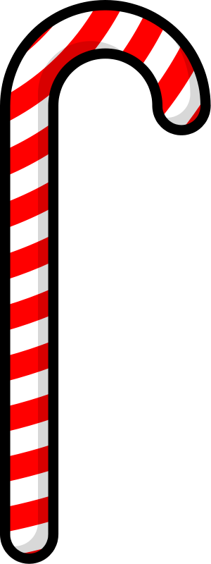 Candy cane clip art  3