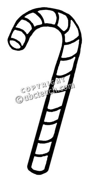 Candy cane clip art  4