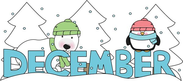 December clipart image #13968