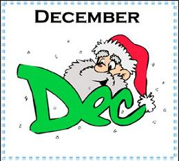 Free december clipart