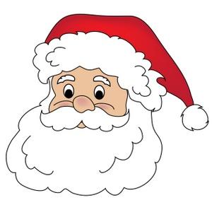 Free santa claus clip art image clipart illustration of santa 2