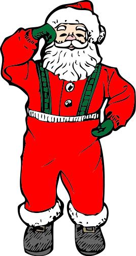 Free santa claus clipart public domain christmas clip art 6