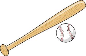 Images baseball bat clipart