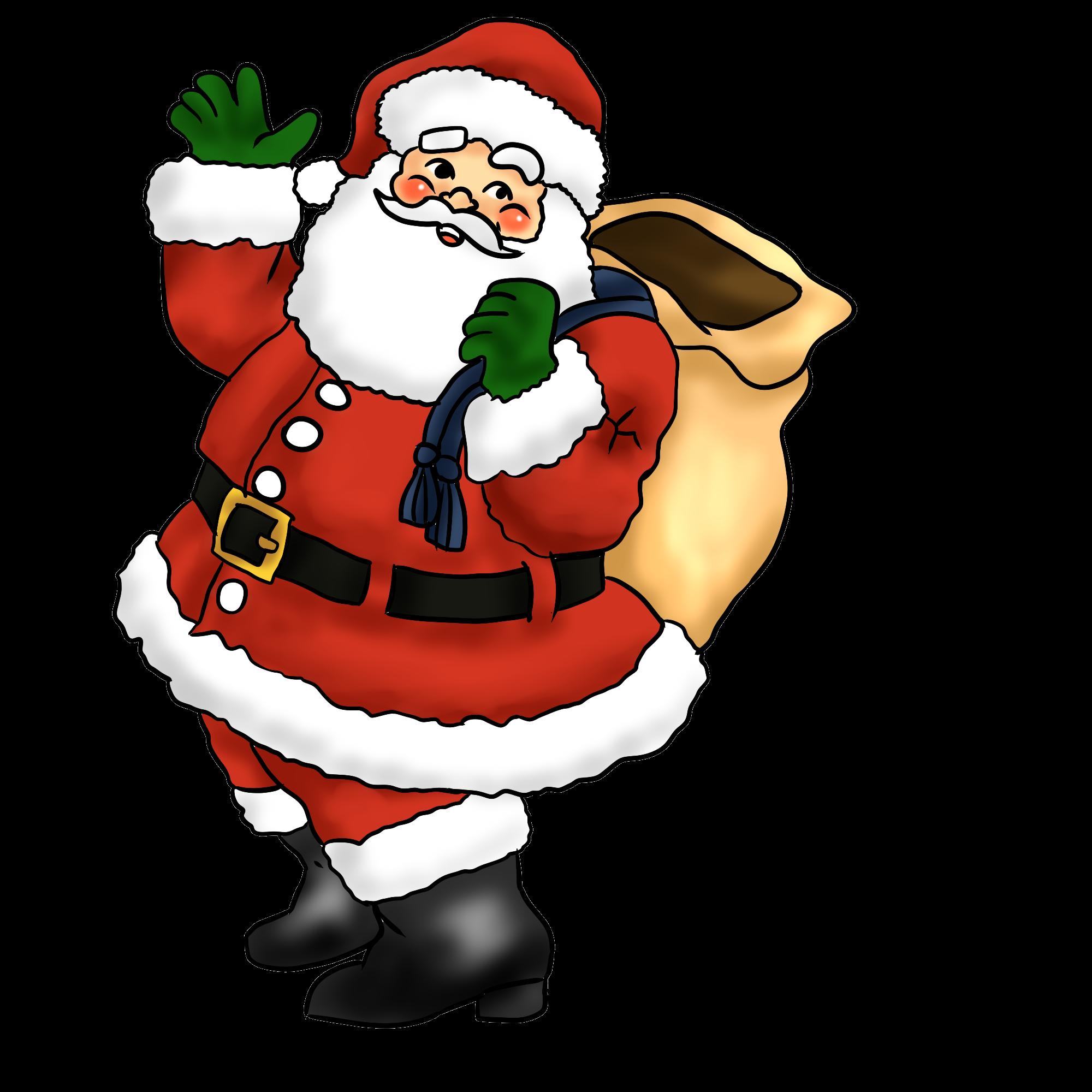 Santa claus clip art  3