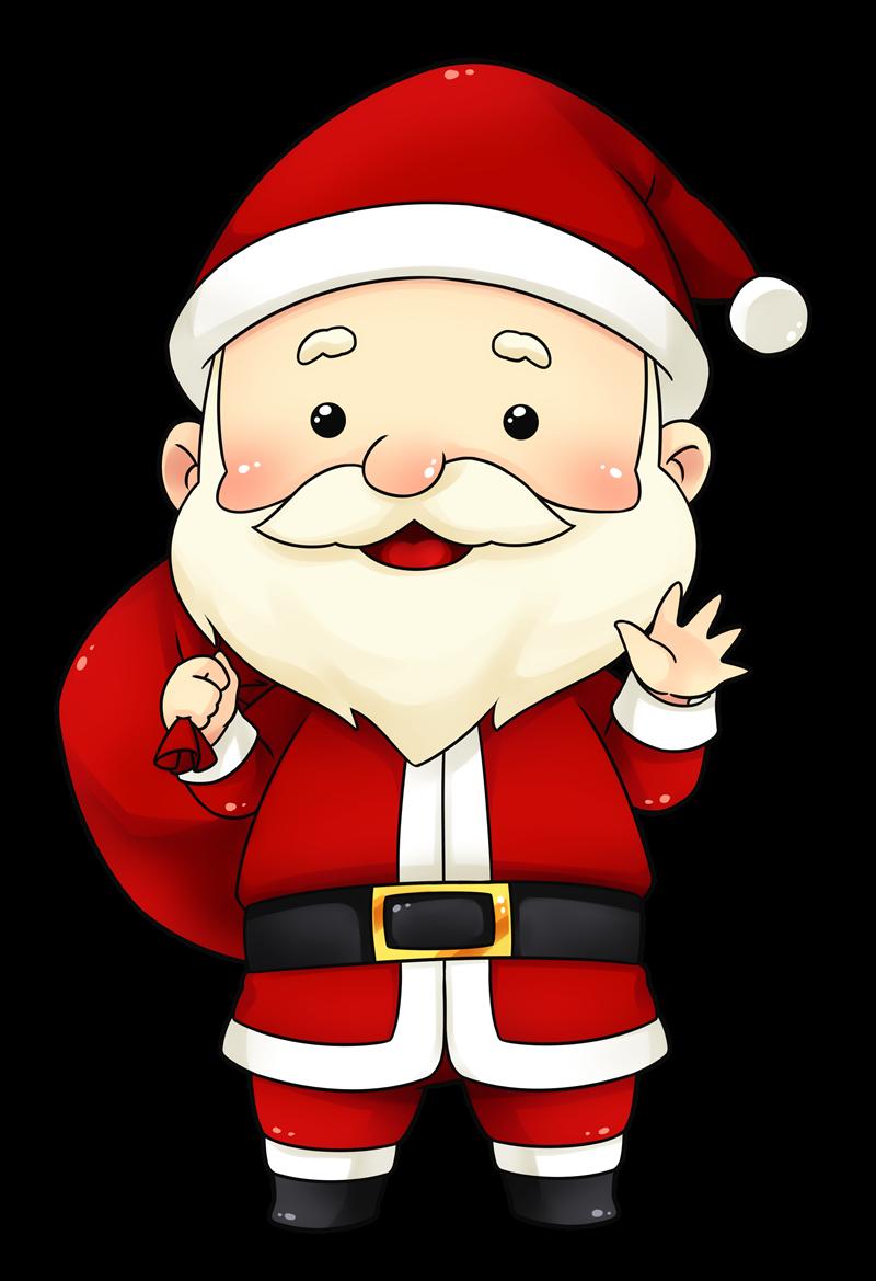 Santa claus clip art  4