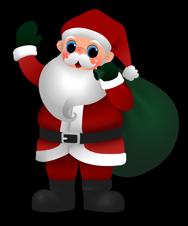Santa claus clip art  6