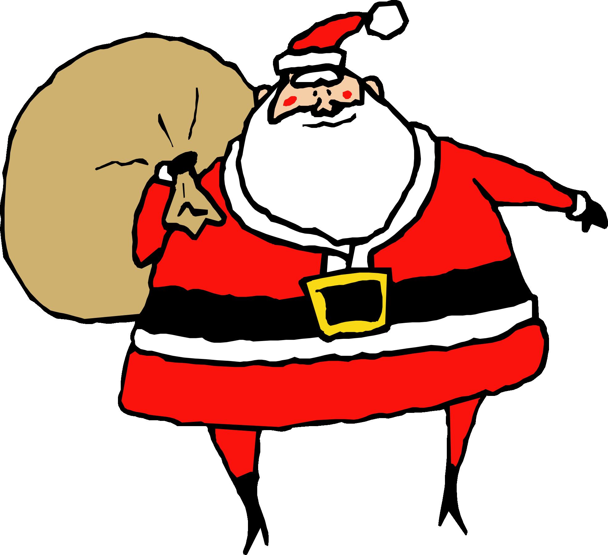 Santa claus clip art clipart