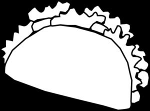 Taco clip art at vector clip art free