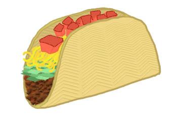 Taco clip art