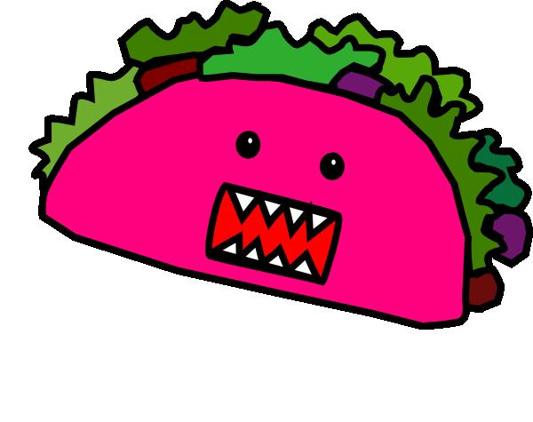 Taco mae clip art at vector clip art