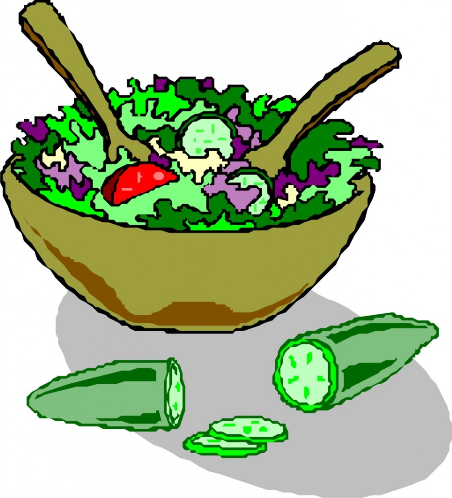 Taco salad clipart