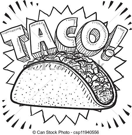 Tacos clipart vector graphics 1 tacos ilustraciones