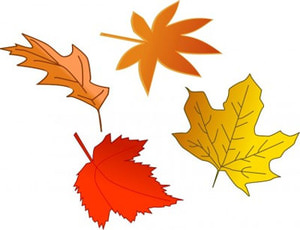 All free downloads fall leaves clip art 3