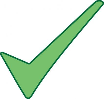 Check mark checkmark graphic clipart