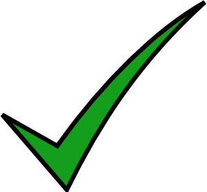 Check mark clip art at vector clip art