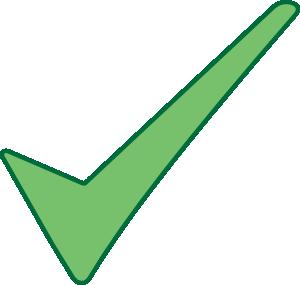 Check mark symbol clip art at vector clip art
