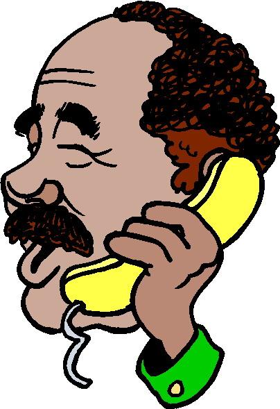 Clip art clip art telephone 3