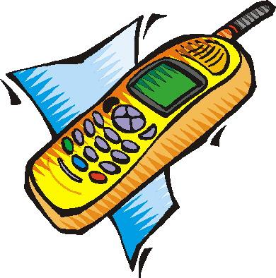 Clip art clip art telephone 5