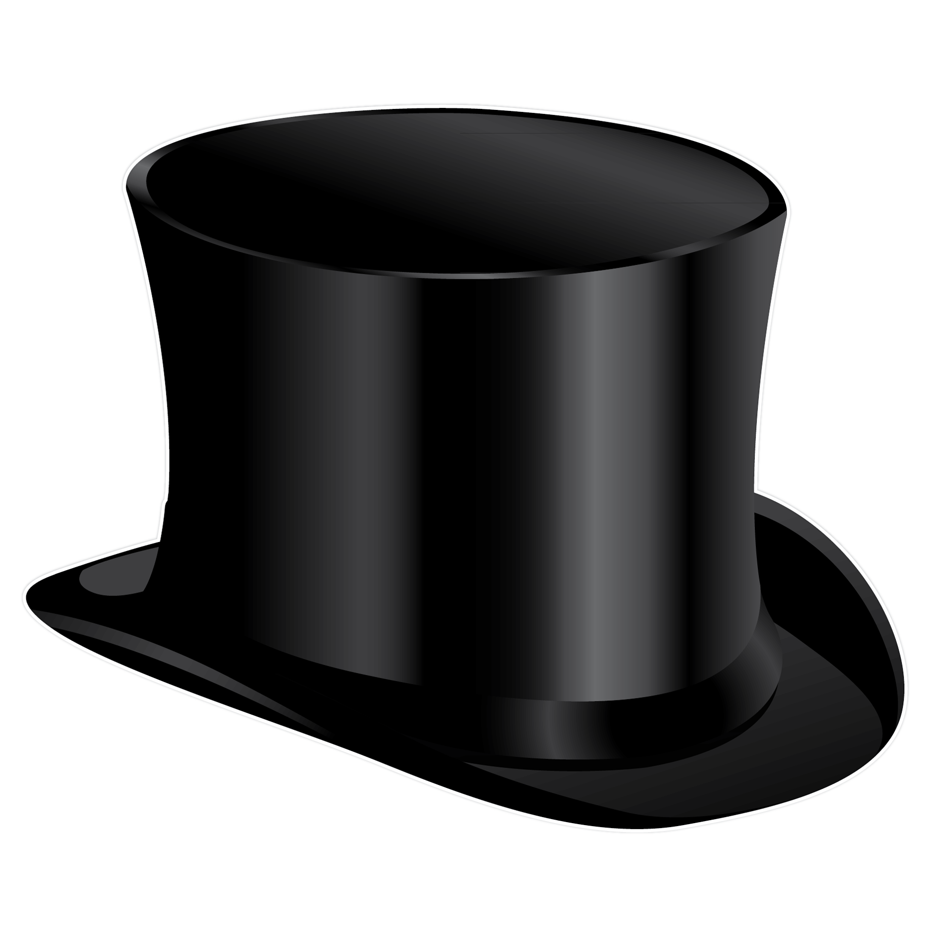 Clip art top hat clipart