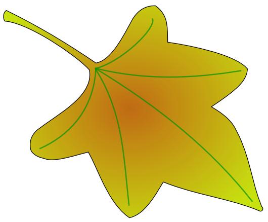Fall leaves clip art clipart 3