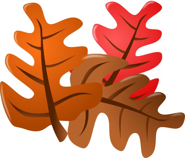 Fall leaves clip art clipart 4