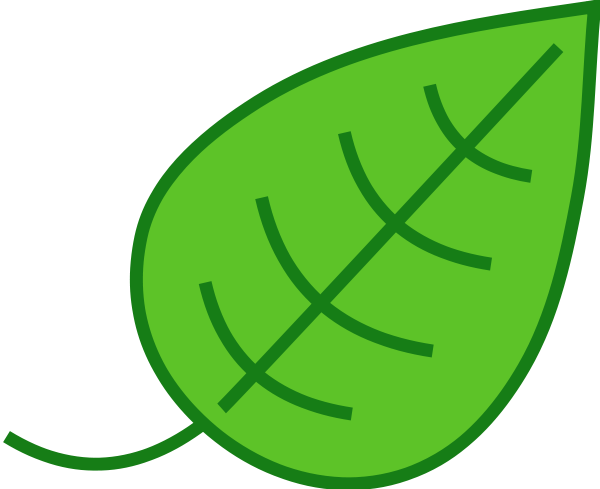 Jungle leaves clip art