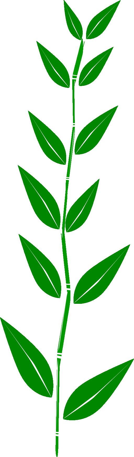 Leaf leaves clip art free vector 3
