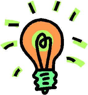 Lightbulb clip arts clipart pictures
