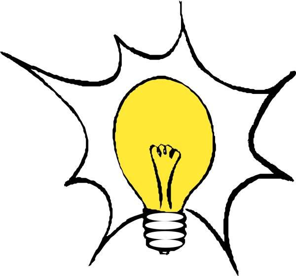 Lightbulb light bulb clip art 2