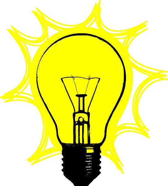 Lightbulb light bulb clip art 4