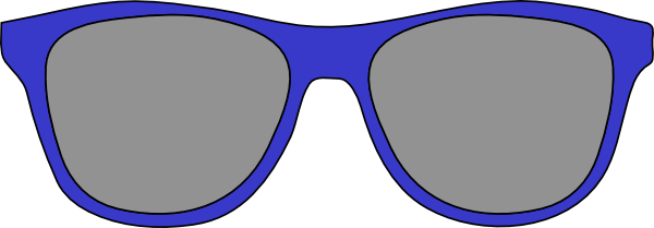 Picture of sun glasses clipart
