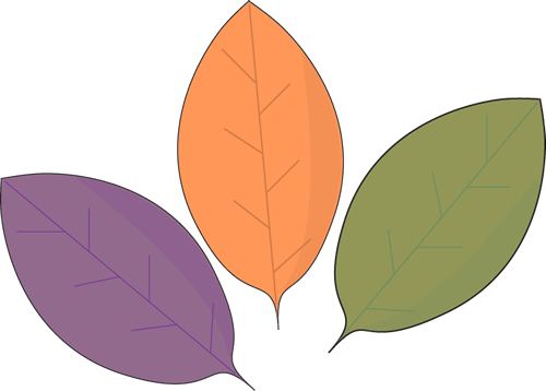Rustic autumn leaves clip art rustic autumn leaves image