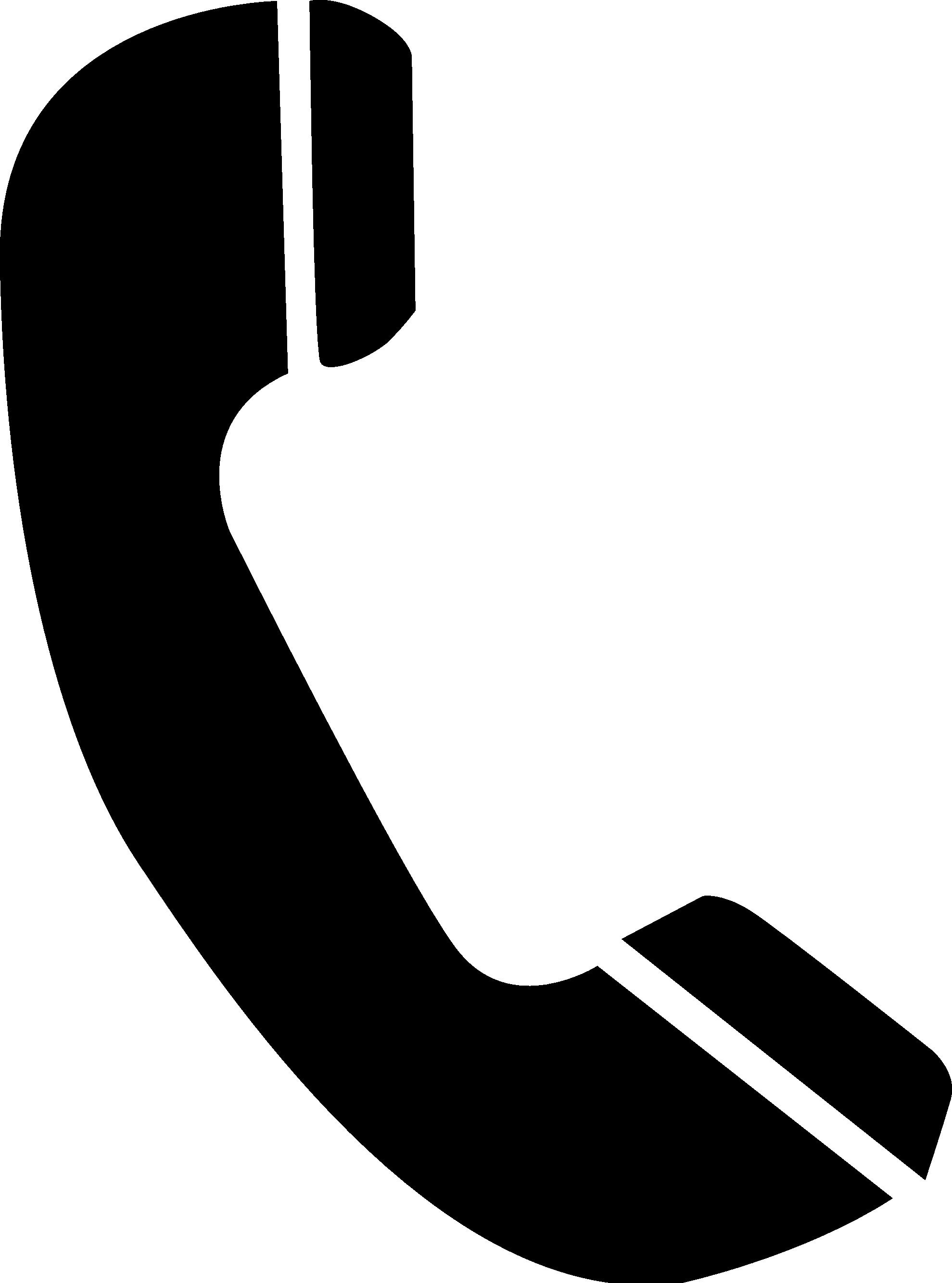 Symbol of telephone clipart
